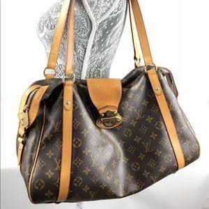 Authentic Louis Vuitton stresa GM